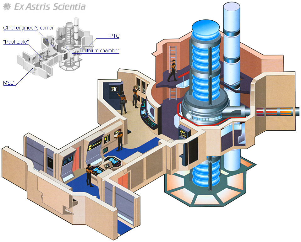 Engineering Plan Set : Star trek enterprise